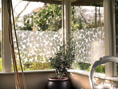 Leaf Static Decorative Window Film - Window Film World