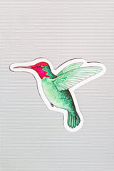 "Hummingbird Screen Door Magnets (5.25"" x 4.75"" )"