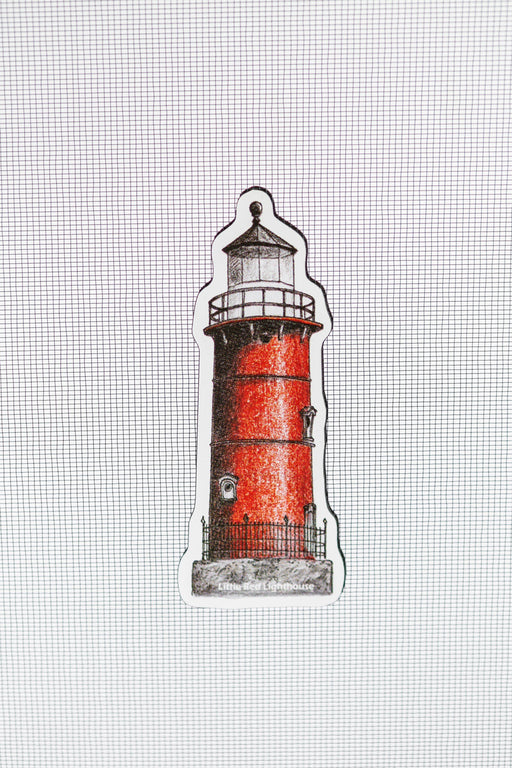 "Little Red Lighthouse Screen Door Savers ( 1"" x 4"") - Window Film World"