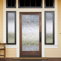 Glacier Textured | Privacy (Static Cling) - Window Film World