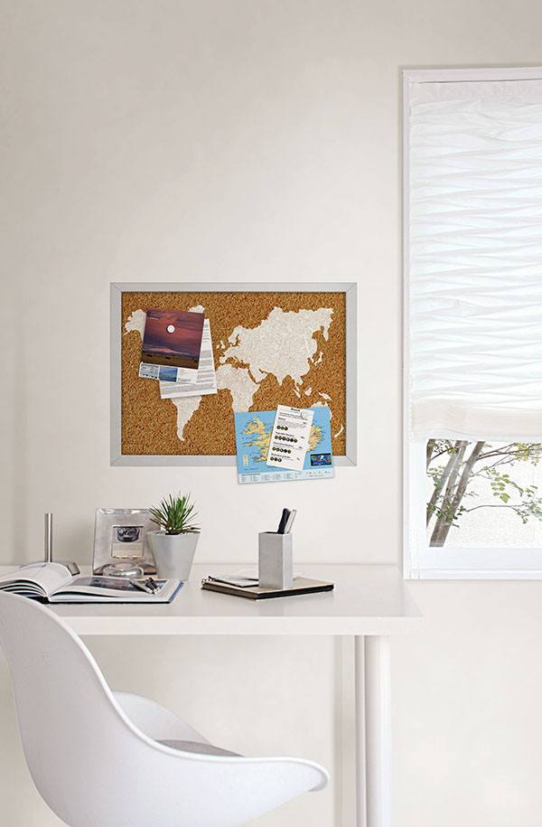 The World Printed Cork Board - Window Film World