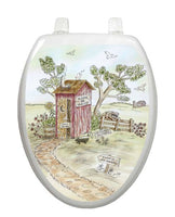 Lori's Outhouse Toilet Tattoos - Window Film World