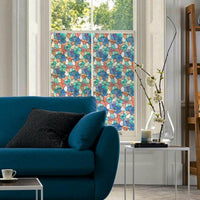 Lisboa Spring Stained Glass | Privacy Static Cling - Window Film World