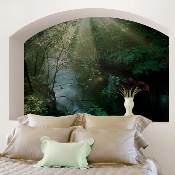 Creek Wall Mural - Window Film World