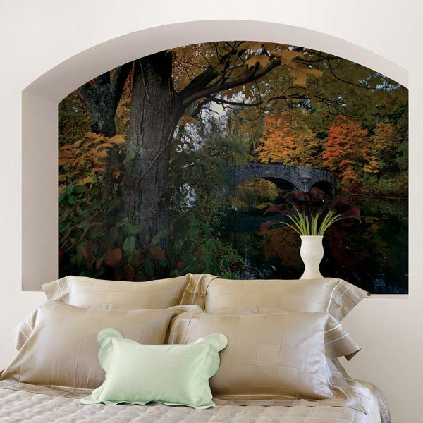 Fall Foliage Wall Mural - Window Film World