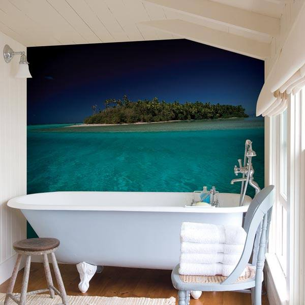 Island Wall Mural - Window Film World