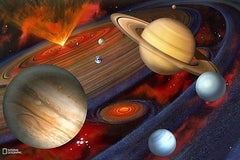 Planets Wall Mural - Window Film World
