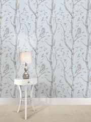 Blue Woods Peel And Stick Wallpaper - Window Film World