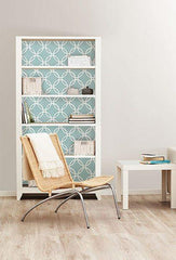 Blue Links Peel And Stick Wallpaper - Window Film World