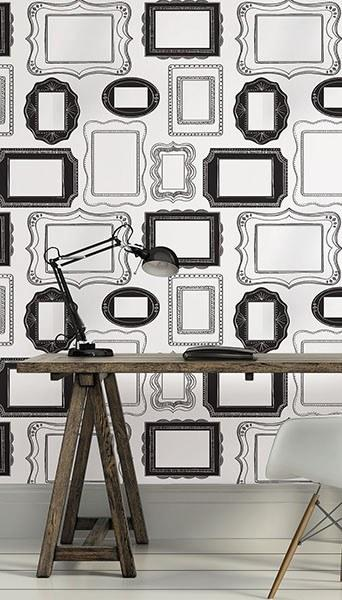 Photo Opp Frames Peel and Stick Wallpaper - Window Film World