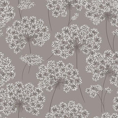 Angelica Grey Peel and Stick Wallpaper - Window Film World