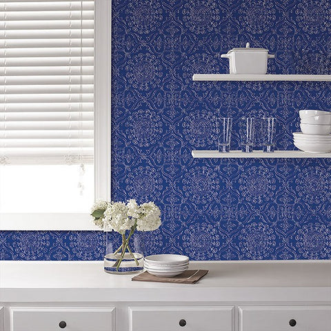 Byzantine Peel And Stick Wallpaper - Window Film World