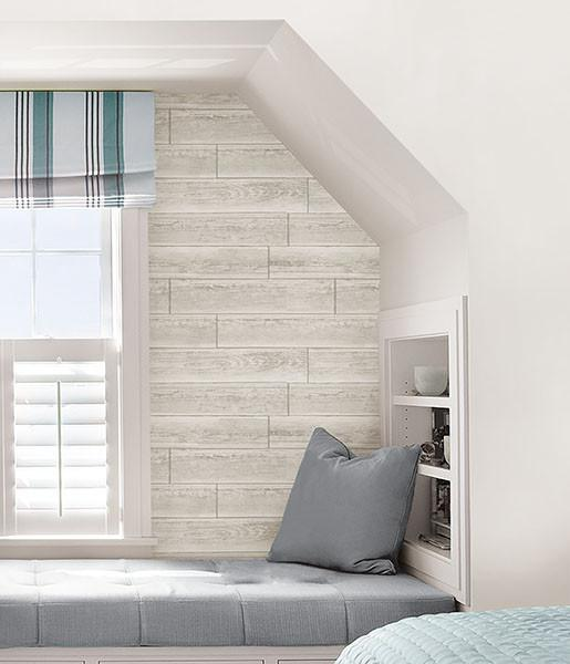 Serene Cream Peel and Stick Wallpaper - Window Film World