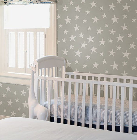 Stardust Grey Peel and Stick Wallpaper - Window Film World