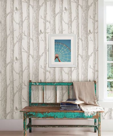 The Forest Peel and Stick Wallpaper - Window Film World