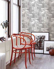 Metropolis Peel and Stick Wallpaper - Window Film World