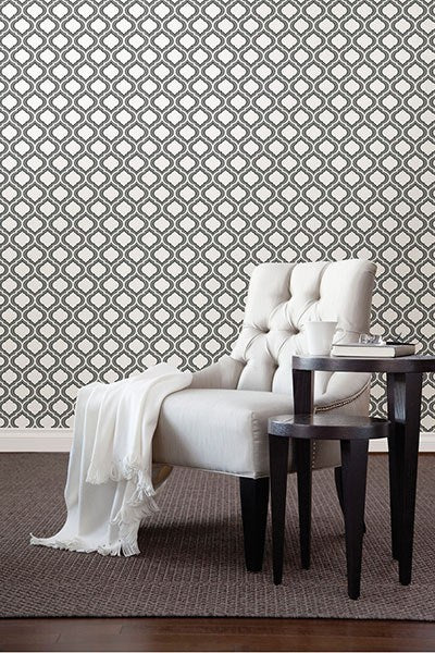Quatrefoil Peel and Stick Wallpaper - Window Film World