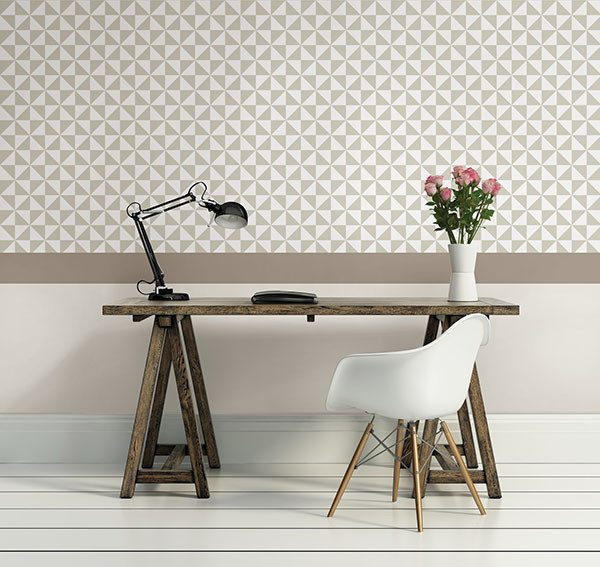 Facets Peel and Stick Wallpaper - Window Film World