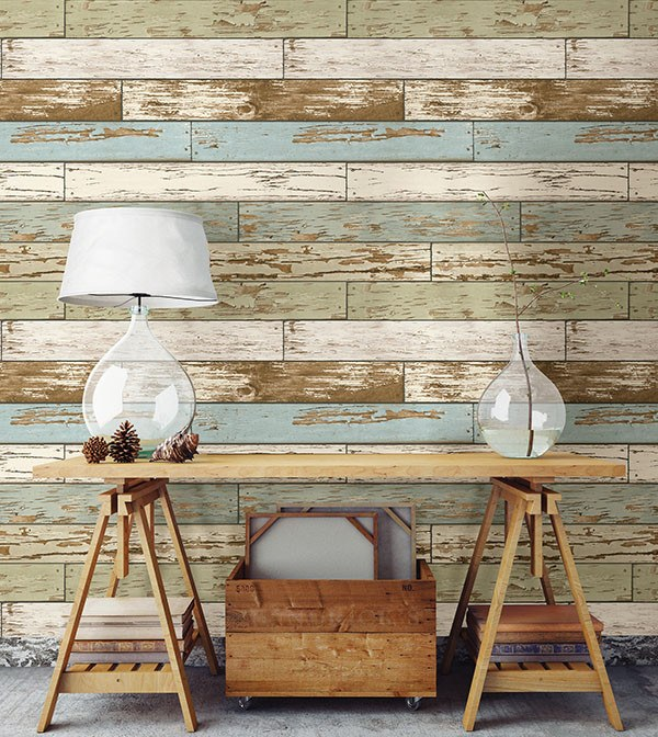 Old Salem Vintage Wood Peel and Stick Wallpaper - Window Film World