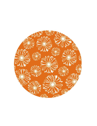 Orange Daisies (5.75x5.75) - Window Film World
