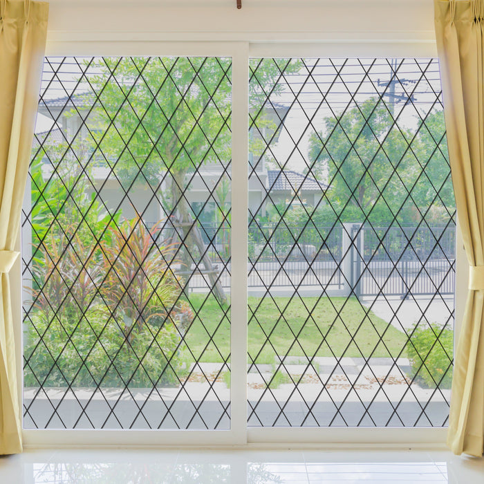 Orleans Leaded Glass Sale | Privacy or See Thru  (Static Cling)