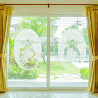 Oval Angel | (Static Cling) - Window Film World