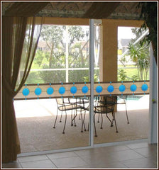 Roswell Stained Glass Window Film Border - Window Film World