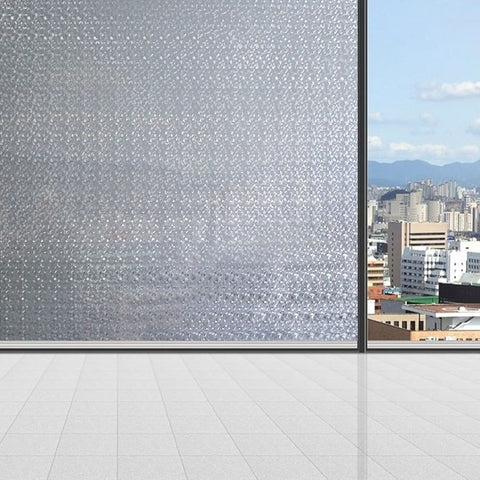 Cut Glass | Privacy Window Film (Static Cling) - Window Film World