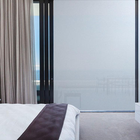 frosted window film static cling window film world