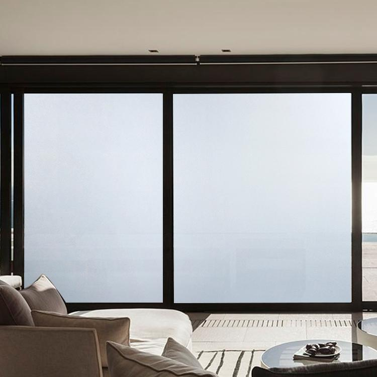 Opaque Glass Windows : Frosted privacy window film opaque frosting