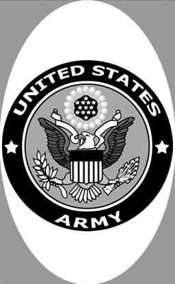 "4"" x 6"" U.S. Army Decal  