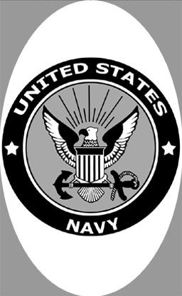 "4"" x 6"" U.S. Navy Decal 