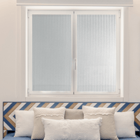 Stripes Window Film | Privacy (Self Adhesive) - Window Film World
