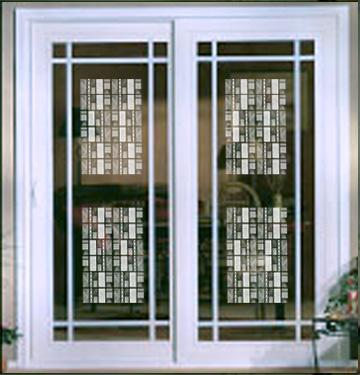 Decorative Window Film Textured Glass Window And Door Film