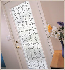 Tudor Leaded Glass | Privacy (Static Cling) - Window Film World