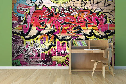 City Graffiti Wall Mural - Window Film World