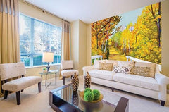 Shades of Autumn Wall Mural - Window Film World