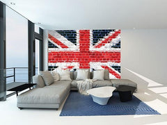 Union Brick Wall Mural - Window Film World