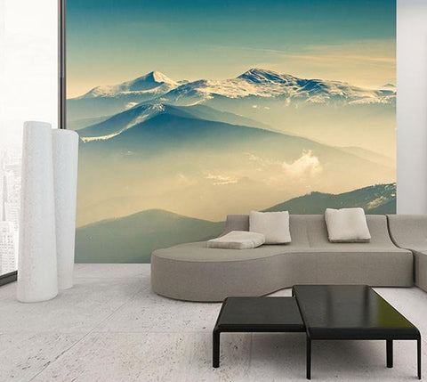 Summit Wall Mural - Window Film World