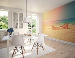Happy Place Wall Mural - Window Film World