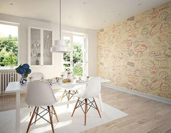 Par Avion Wall Mural - Window Film World