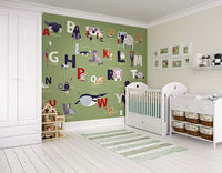 Alphabet Wall Mural - Window Film World
