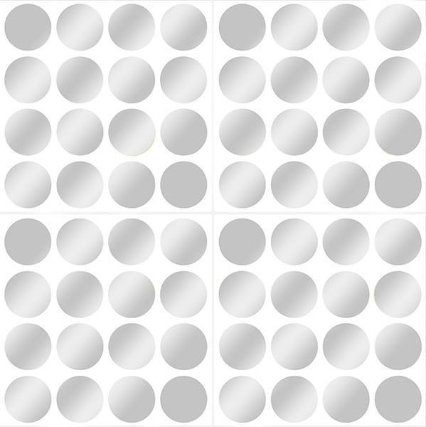 Silver or Gold Foil Confetti Dots - Window Film World
