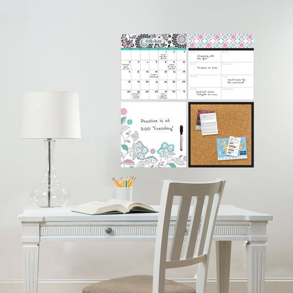 Floral Medley Organization Decal Kit - Window Film World