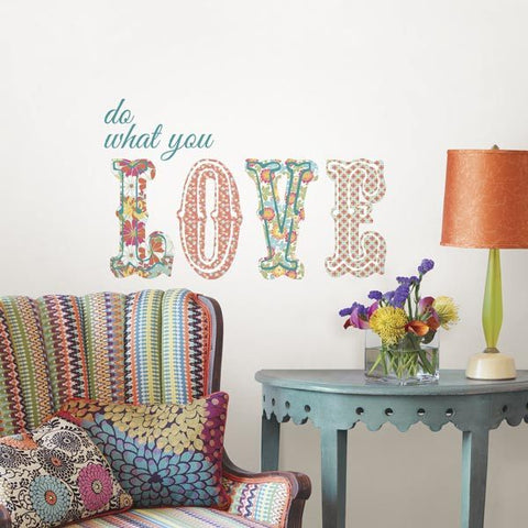 Do What You Love - Wall Decal Quotes - Window Film World