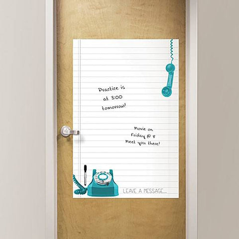 Giant Novelty Leave A Message Dry Erase - Window Film World