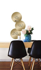 14K Gold Dry Erase Dots - Window Film World