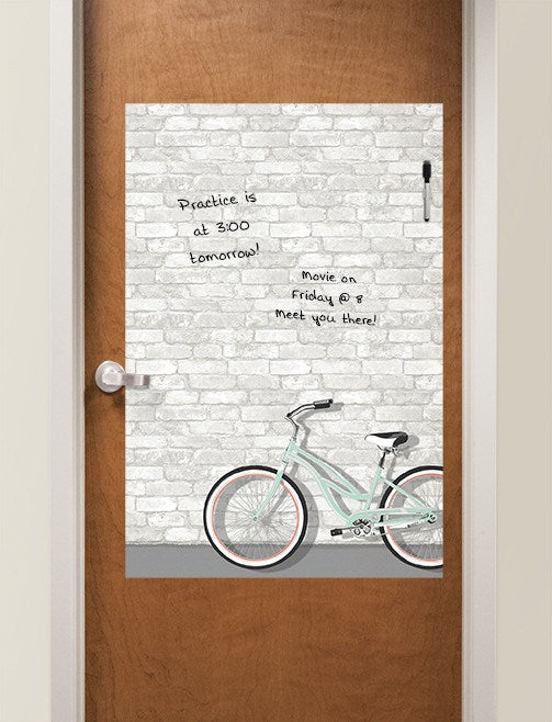 Enjoy the Ride Dry Erase Message Board - Window Film World