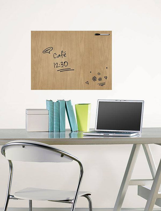 Hardwood Message Board Decal - Window Film World