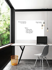 White Giant Dry Erase Decal - Window Film World